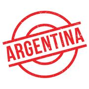 Argentina rubber stamp Piirros