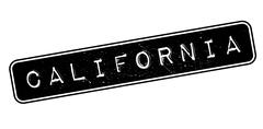 California rubber stamp Stock Illustration