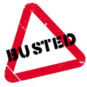 Busted stamp Stock Illustration