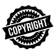Copyright stamp Stock Illustration