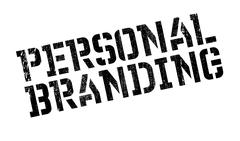 Personal branding stamp Stock Illustration