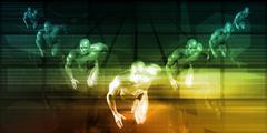 Fast Track Business Stock Illustration