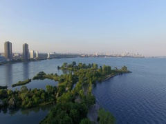 Humber Bay Park East Stock Footage