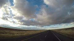 Driving POV - Rural Idaho Interstate  Stock Footage