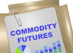 Commodity Futures - business concept Stock Illustration
