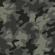 Modern fashion vector trendy camo pattern Stock Illustration