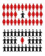 Prejudice Stock Illustration