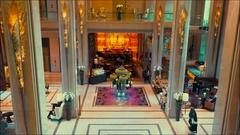 Thailand Bangkok Luxury hotel lobby in Bangkok. Asian luxury Stock Footage