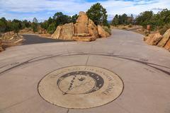 Tribes Call The Grand Canyon Home, Grand Canyon National Park, Arizona, Uni.. Stock Photos