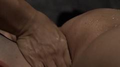 Thai Massage Body Parts Stock Footage