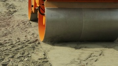 View of Paver vehical.  Stock Footage