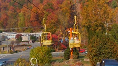 Skylift Gatlinburg Tennessee 4k Stock Footage