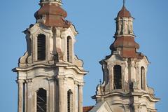 Vilnius cathedral detailk Stock Photos