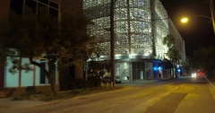City View Garage Design District Stock Footage