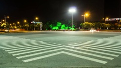Crossroads in China - Timelapse Stock Footage