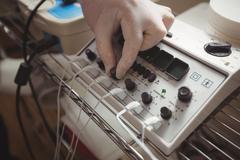Close-up of electro stimulation device Kuvituskuvat