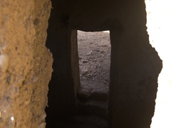 4K Morroco Desert ruins Stock Footage