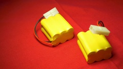 NICD batteries hobby battery Stock Footage