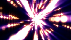 Colorful Warm Spheres Light Rays Burst VJ Motion Background Loop roll right Arkistovideo