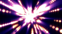 Colorful Warm Spheres Light Rays Burst VJ Motion Background Loop Arkistovideo
