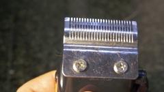 Shears haircut device Stock Footage