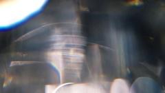 Diamond Prism Macro Motion Background Arkistovideo