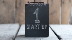 Start up and development process. Innovation product, creative idea or Stock Footage