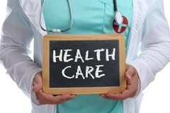 Health care healthcare concept disease ill illness healthy young doctor Kuvituskuvat
