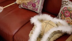 Tricorn hat cleaning quick Stock Footage