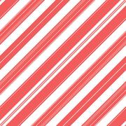 Diagonal stripe pattern background. Red and white colors. Stock Illustration
