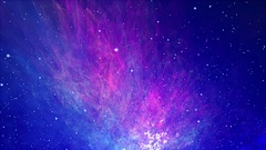 Loop Orbit Galaxy Stock Footage