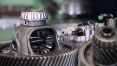 Spare parts for auto repair Stock Footage