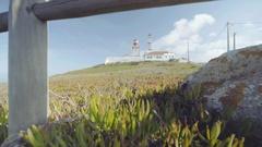 Dabo Da Roca Light House Stock Footage