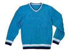 Blue sweater nobody Stock Photos