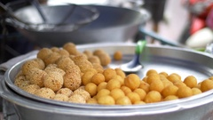 Asian street food, Thailand Stock Footage