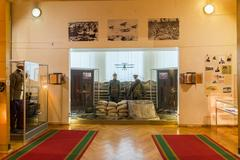 Volgograd, Russia - November 04, 2016. The interior of memorial and histori.. Stock Photos
