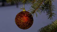 Tree. Christmas. The occasion. Winter. Snow. New year Stock Footage