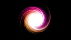 Swirl Hole Rotation Animation Stock Footage