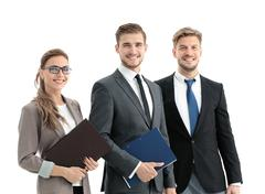 Business People Having Meeting In Modern Office Stock Photos