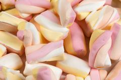 Background of the chewy sweets. Stock Photos