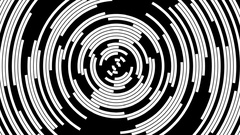 Rotating Concentric Arcs  -   Abstract   Animation Stock Footage