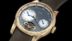 Gold luxury watch. Generic 3D model, my own design. Stock Footage