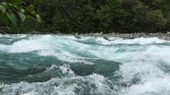 Rapids - Saltos Petrohue Chile Stock Footage