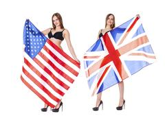 Britain and the US - two strategic ally Stock Photos