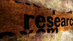 Research grunge concept Stock Footage