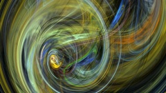 Colorful whirlpool abstract background loop Stock Footage