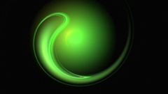 Saint Patrick abstract loop motion background Stock Footage