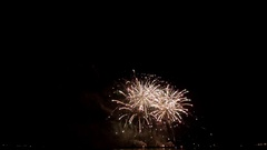 New Year celebration firework Stock Footage