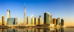 Business bay of Dubai, UAE Kuvituskuvat