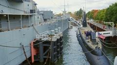 Buffalo, NY, USA: Buffalo and Erie country Naval and Military Stock Footage